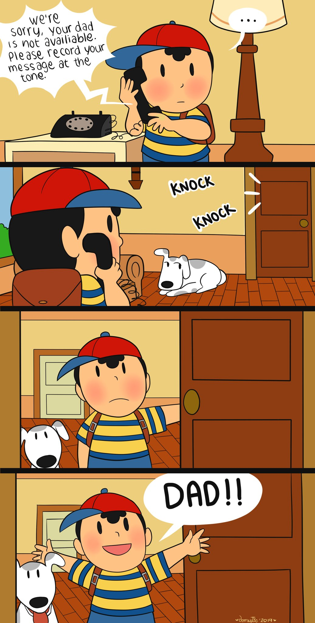 Ness Finally Meets His Dad For Fathersday Super Smash