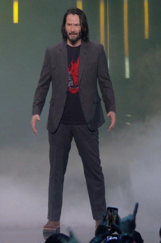 Keanu Reeves at E3