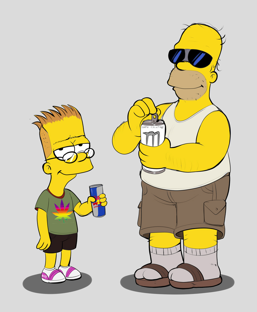 Boomer And Zoomer The Simpsons Know Your Meme