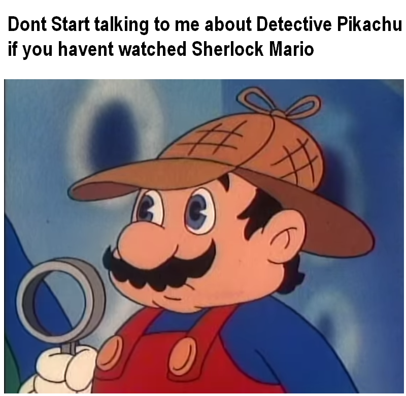 The Original Nintendo Detective Super Mario Know Your Meme