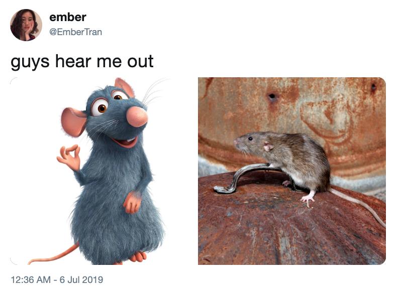 Ratatouille Ok Hear Me Out Know Your Meme