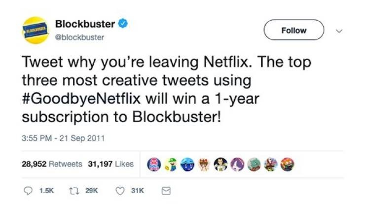 This tweet did not age well | Netflix | Know Your Meme