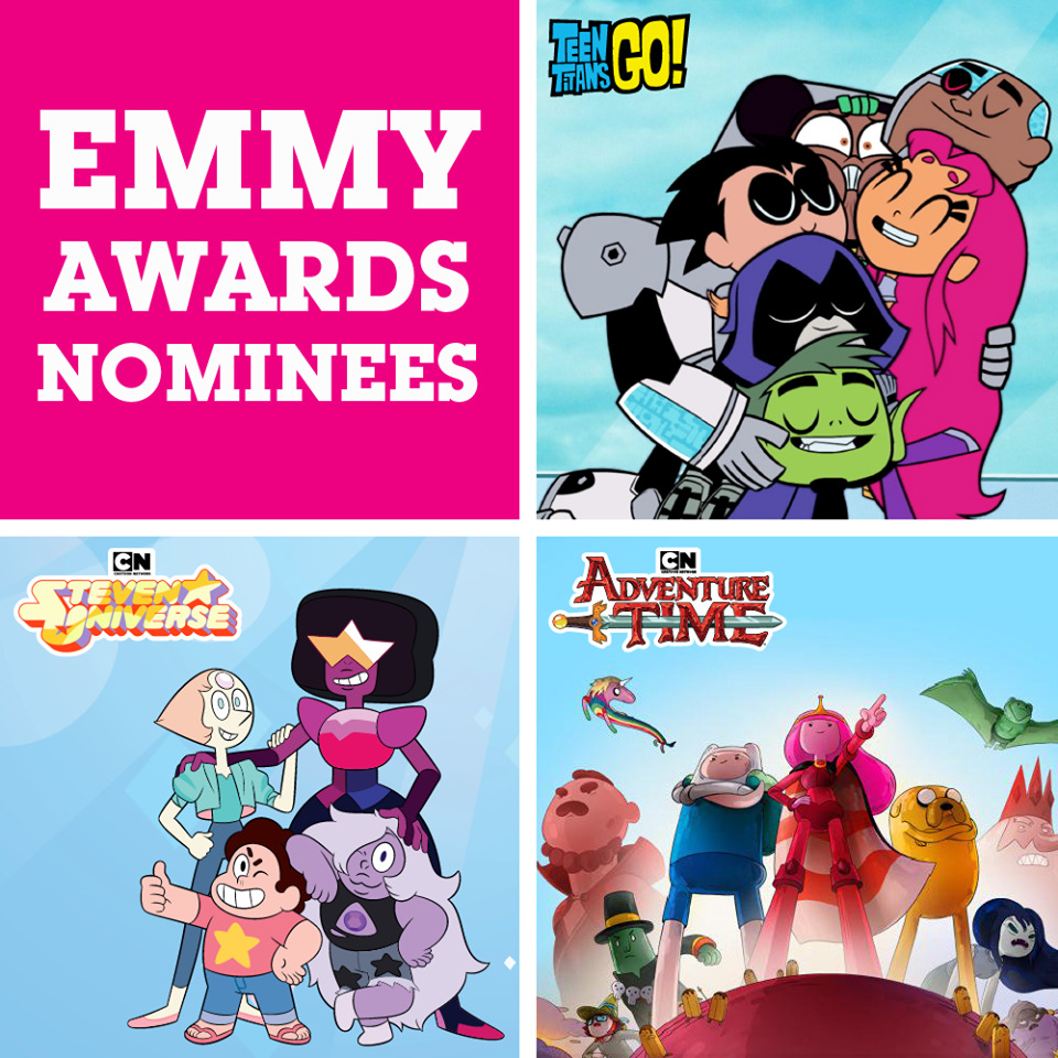 Cn Getting Three Shows Nominated Fro An Emmy In 2019 Cartoon