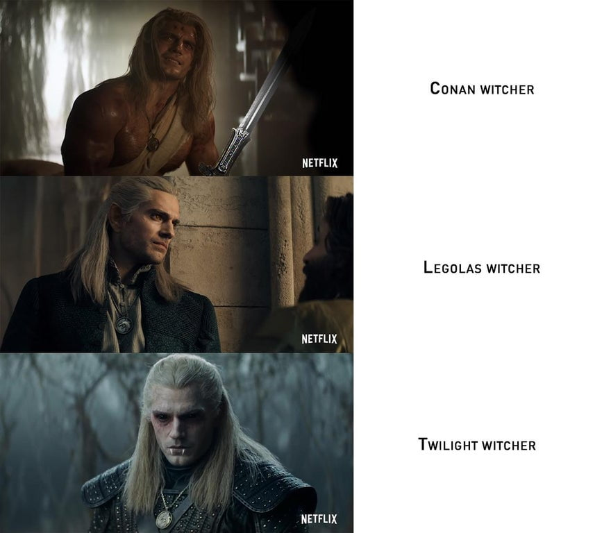 Conan Witcher Vs Legolas Witcher Vs Twilight Witcher The