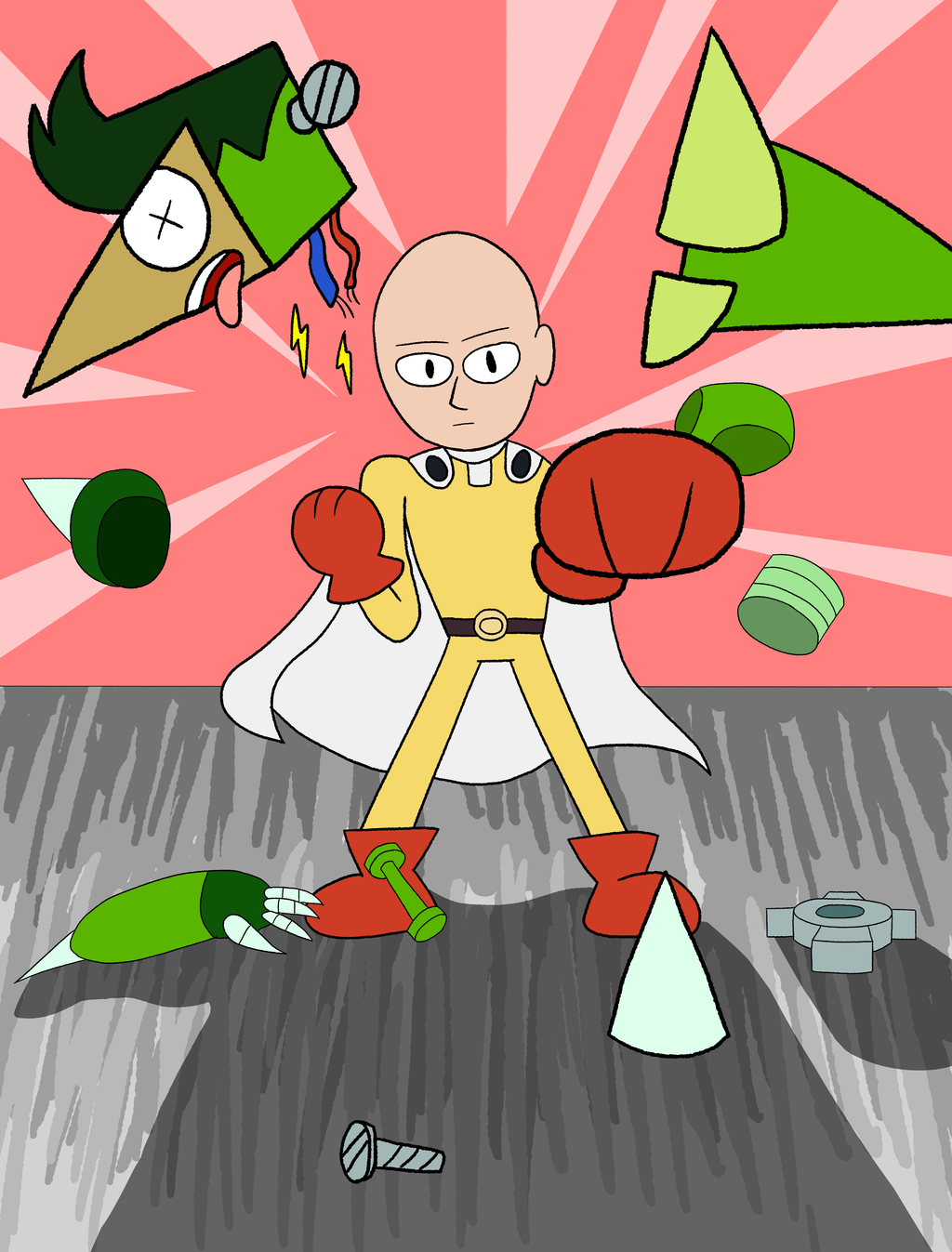 One Punch Man In Ok Ko Let S Be Heroes Crossover Know Your Meme