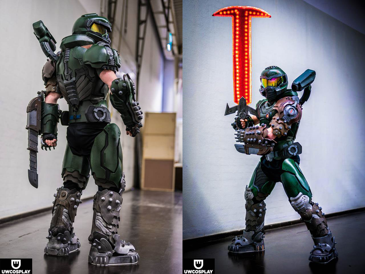 doom slayer cosplay for sale