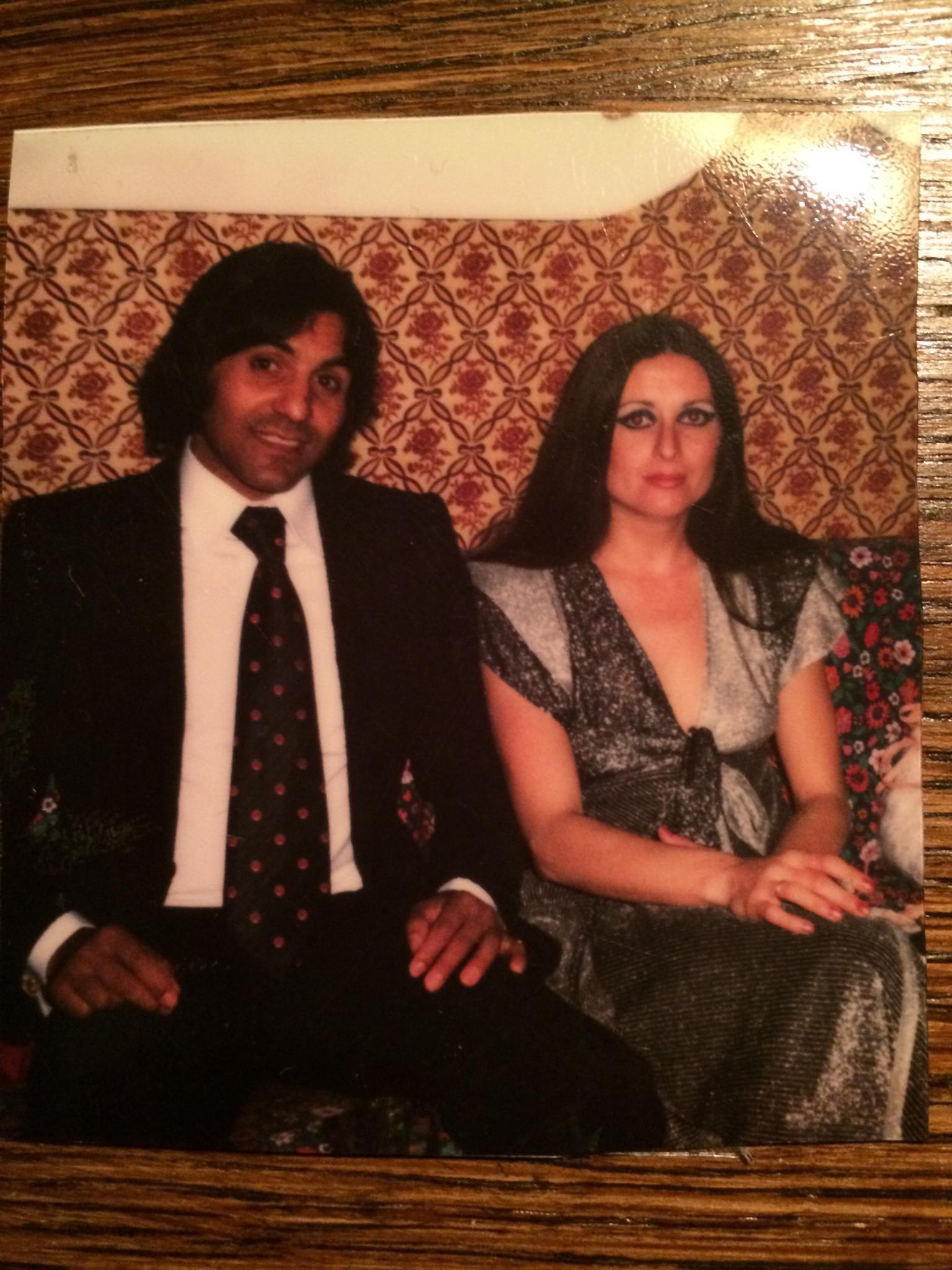 My parents in Spain, Sevilla, spring 1975 (dad spanish gipsy, mom