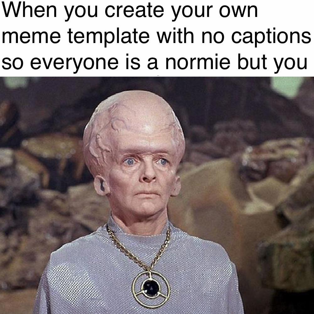 Meme Template Big Brain ~ Kristy Sherman
