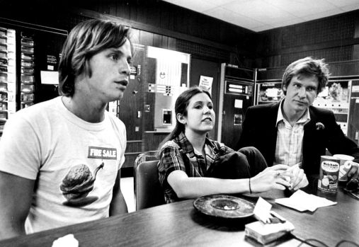 Star Wars A New Hope Cast Visiting Denver Colorado In 1977 R Oldschoolcool Old School Cool Know Your Meme