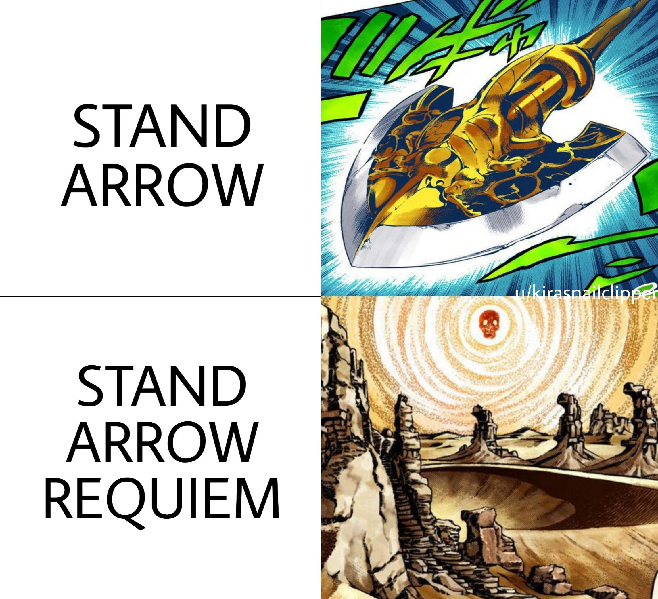 Devil S Palm Is What You Ll Find In Area 51 R Shitpostcrusaders Jojo S Bizarre Adventure Know Your Meme Using stand arrow in every jojo game roblox. bizarre adventure