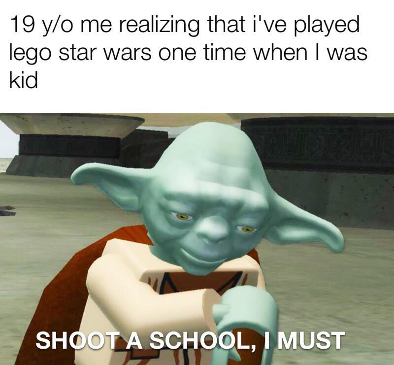 Post This Meme I Must R Dankmemes Lego Star Wars Video Game