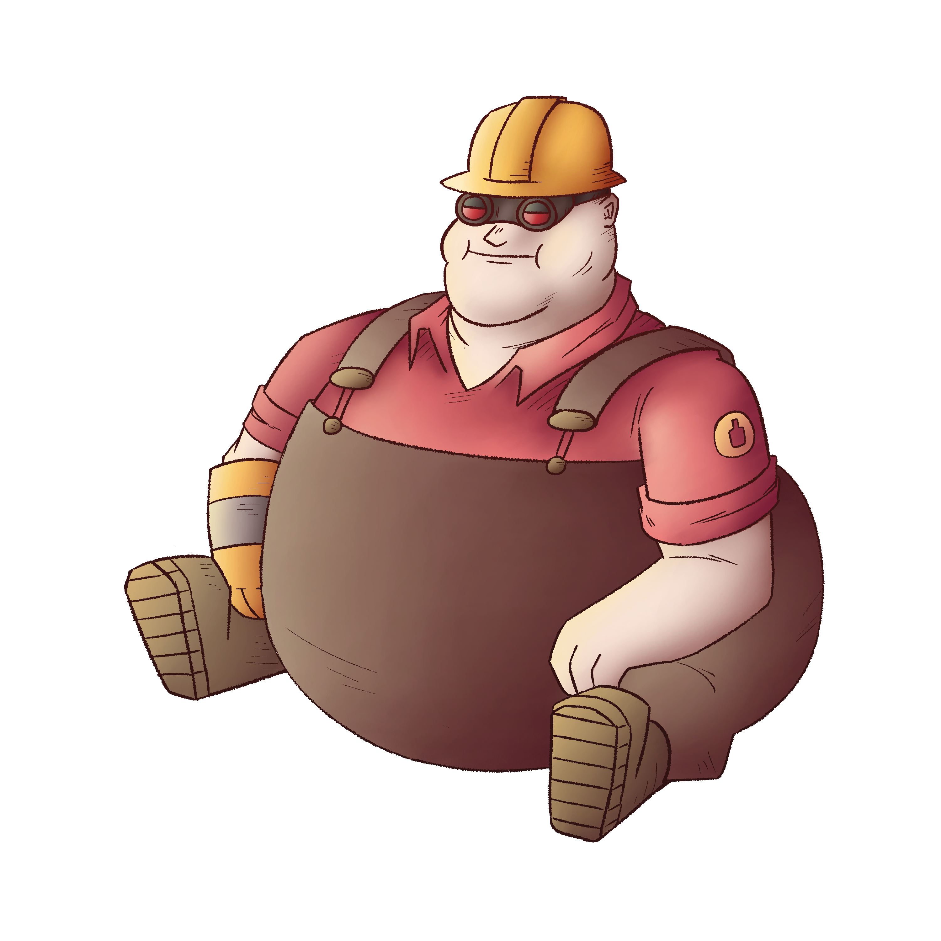 Fat Engineer Team Fortress 2 Know Your Meme