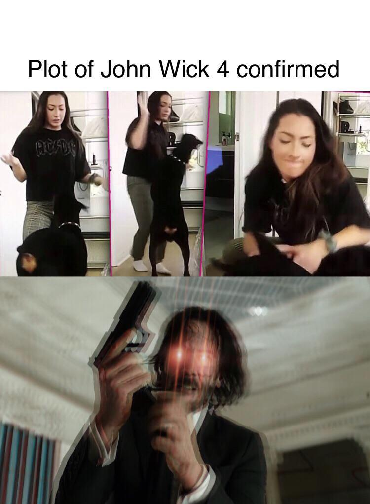 John Wick 4 Sneak Peek R Keanubeingawesome Keanu Reeves Know Your Meme