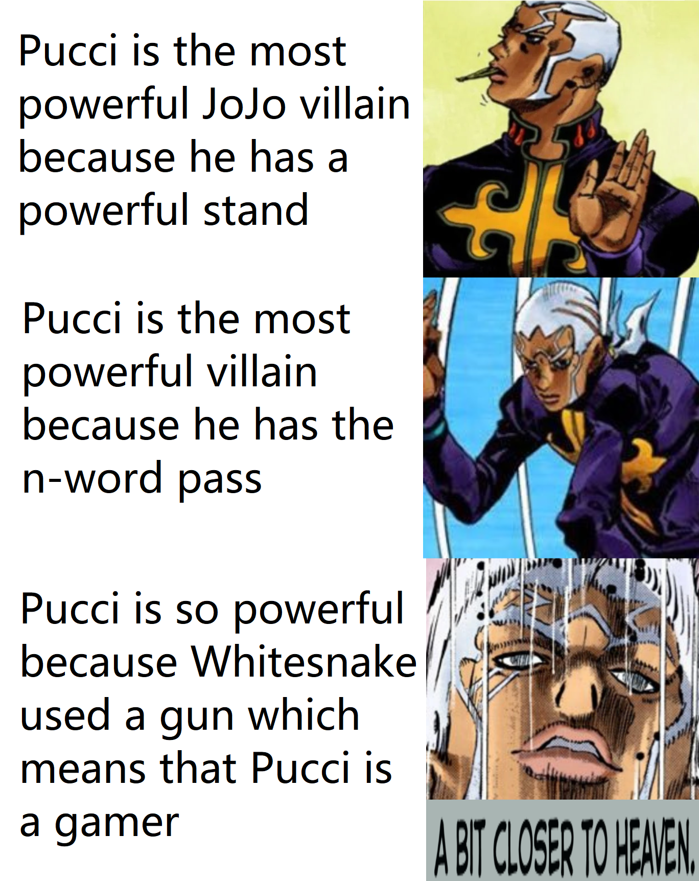 Everybody talking about Kakyoin having a Stand that shoots