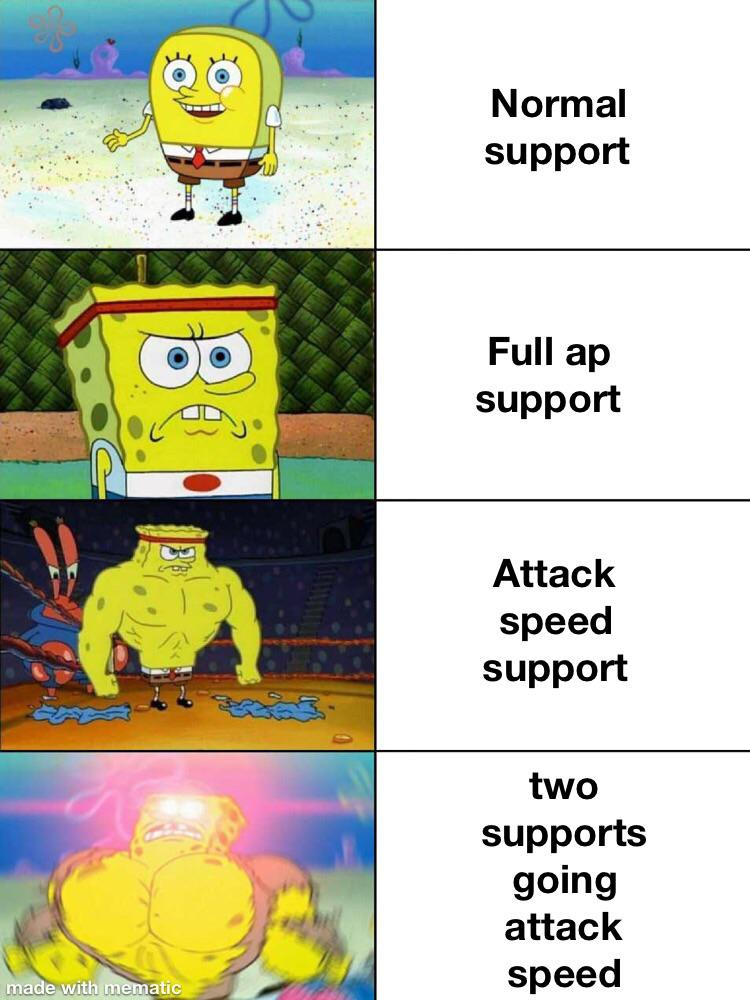 support meta | r/LeagueOfMemes | League of Legends | Know