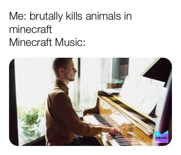 Cue happy music | r/MinecraftMemes | Minecraft | Know Your Meme