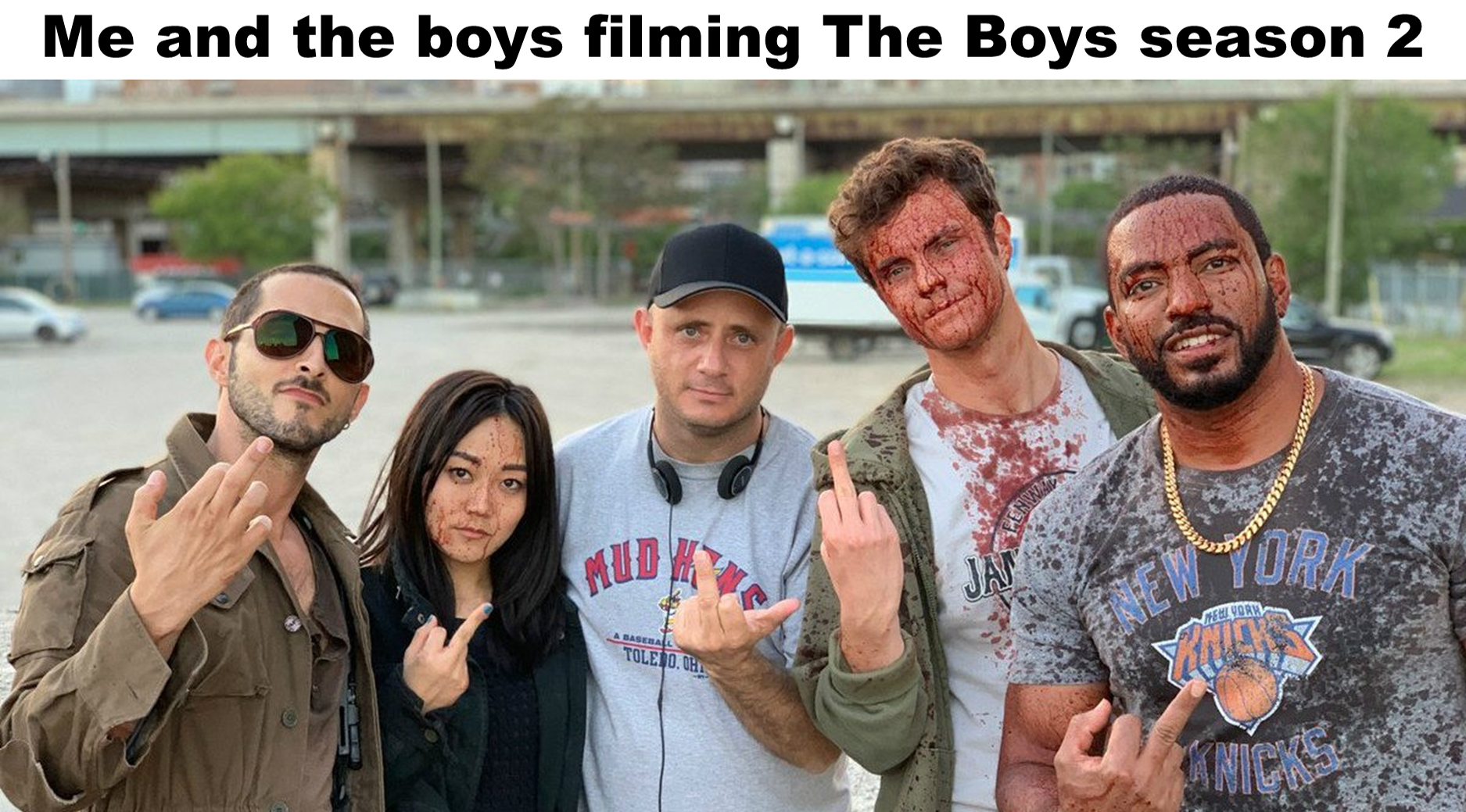 The Boys Filming The Boys Me And The Boys Know Your Meme