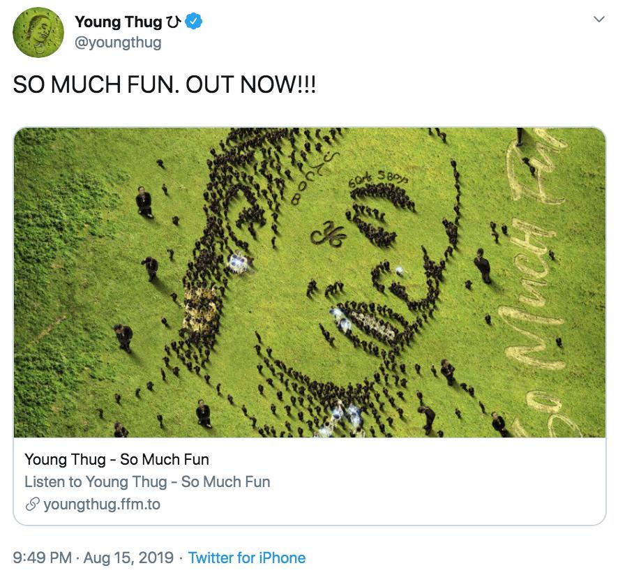Young Thug So Much Fun So Much Fun