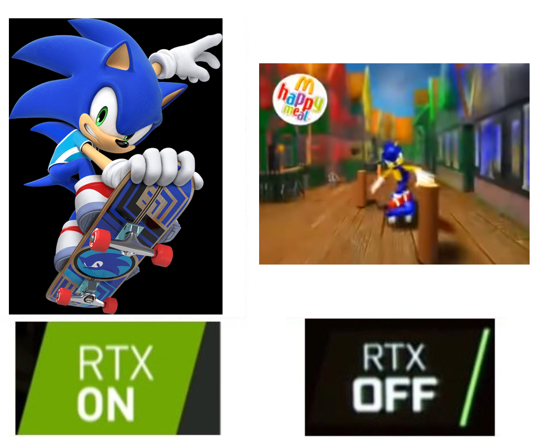Cool Sega Remade The Mcdonald S Toys For The New Game Sonic The Hedgehog Know Your Meme