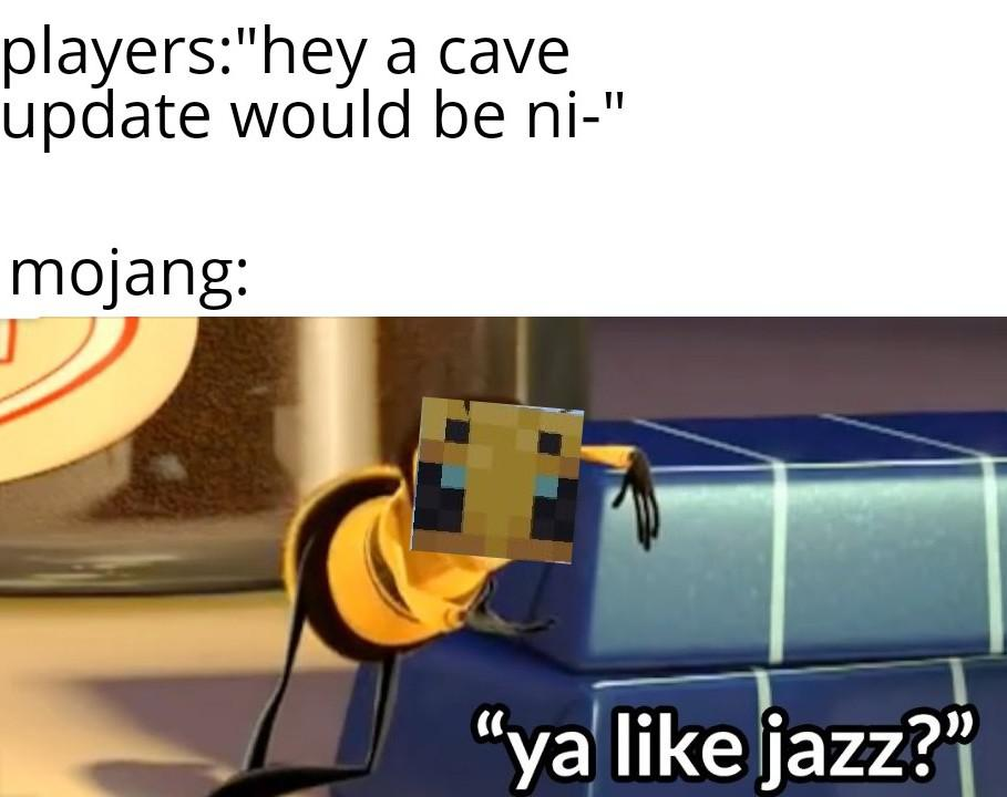 Bee movie memes will be making a comeback soon Minecraft Bees