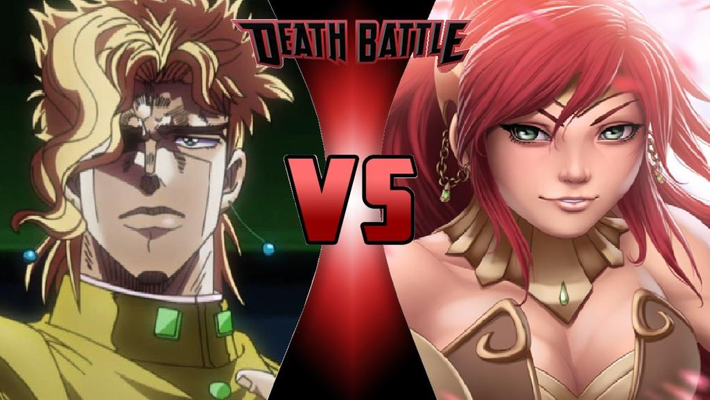 Noriaki Kakyoin vs Pyrrha Nikos | Death Battle | Know Your Meme