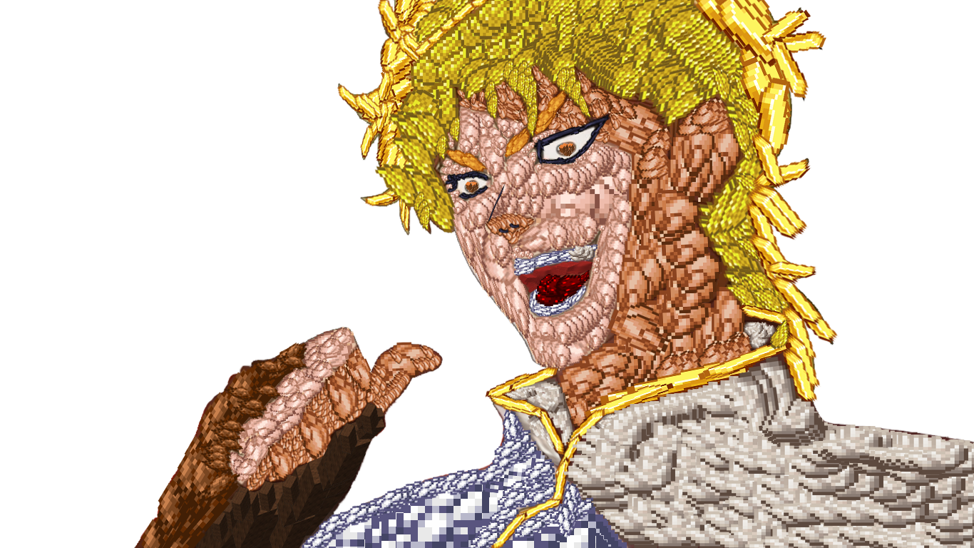 It Was Dio After All Took Me 2 Hrs To Make It T T R