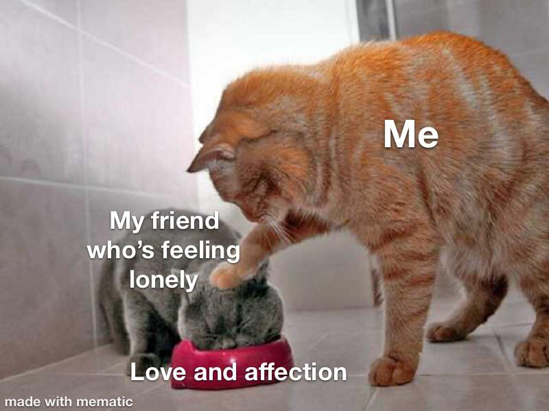 Your Friends Do Love You Your Brain Is Just Mean R Wholesomememes Wholesome Memes Know Your Meme