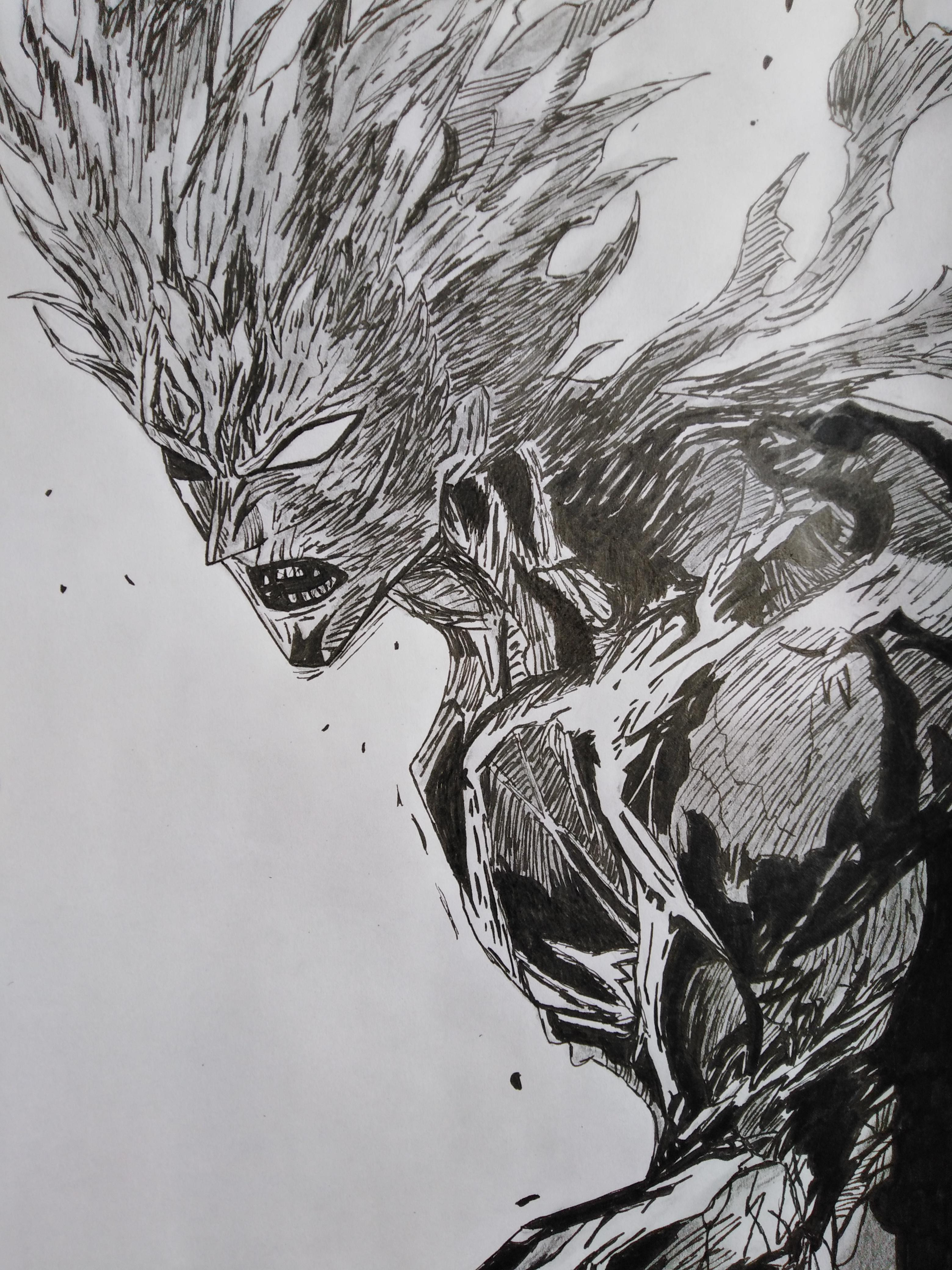 Garou Drawing R Onepunchman One Punch Man Know Your Meme
