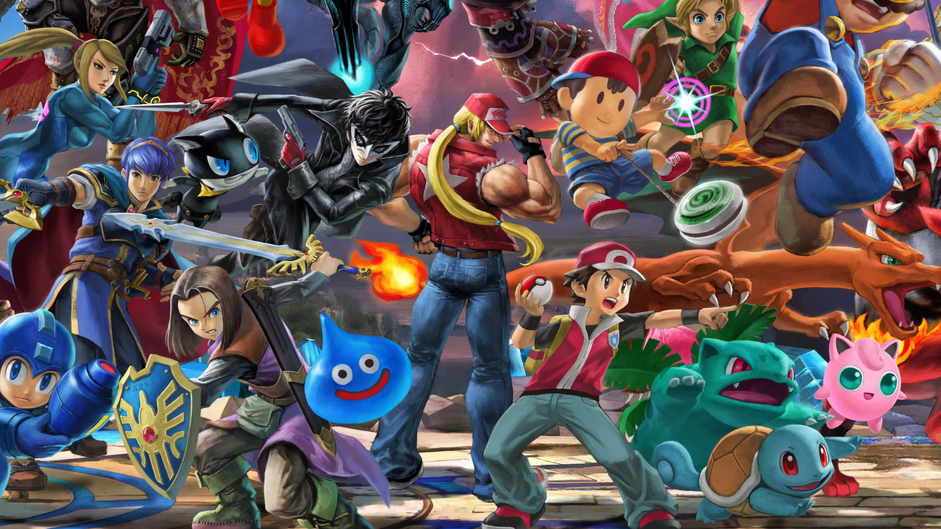 Terry Mural Clearer Super Smash Brothers Ultimate Know Your Meme