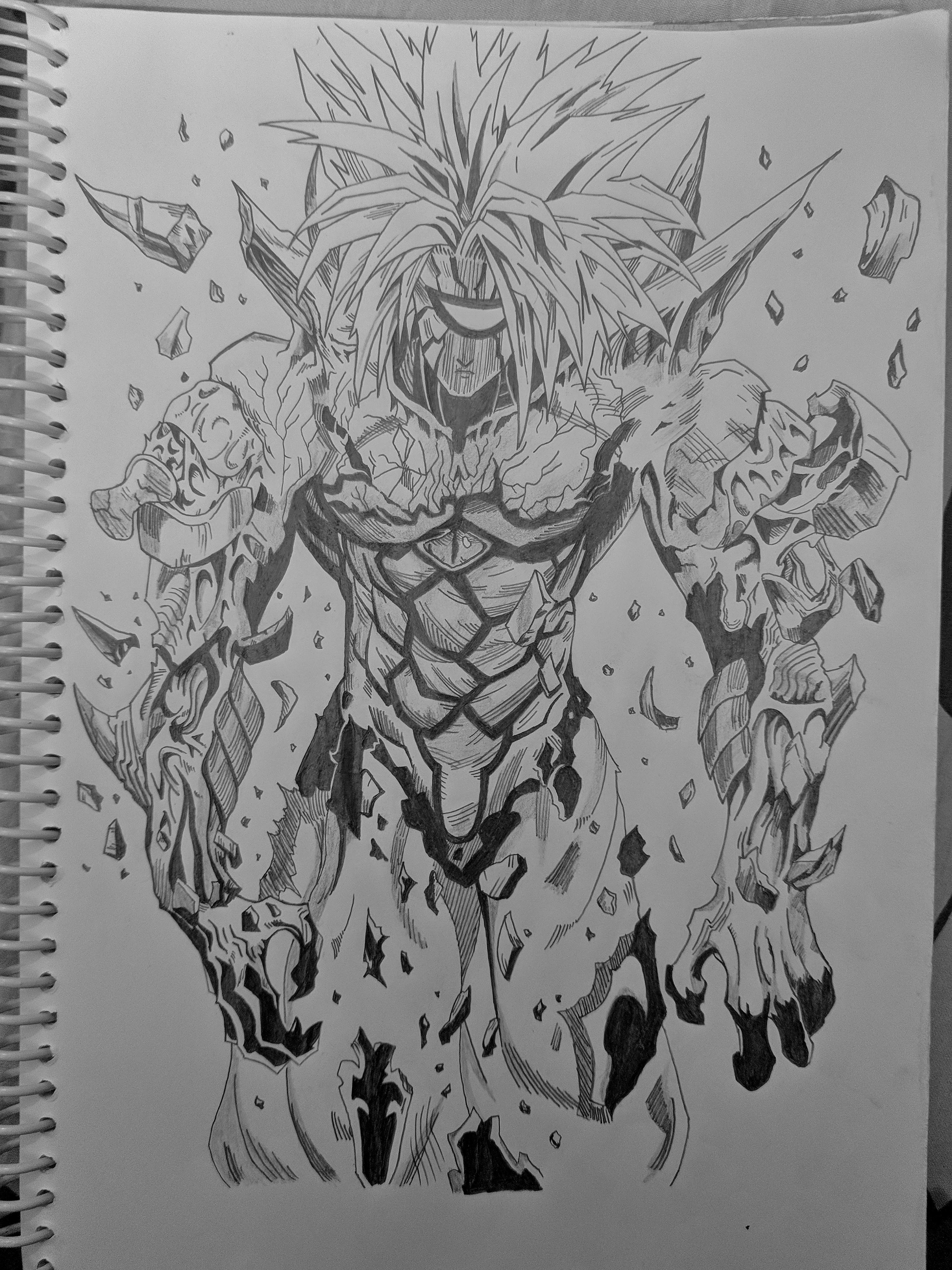 So I Drew Boros R Onepunchman One Punch Man Know Your Meme