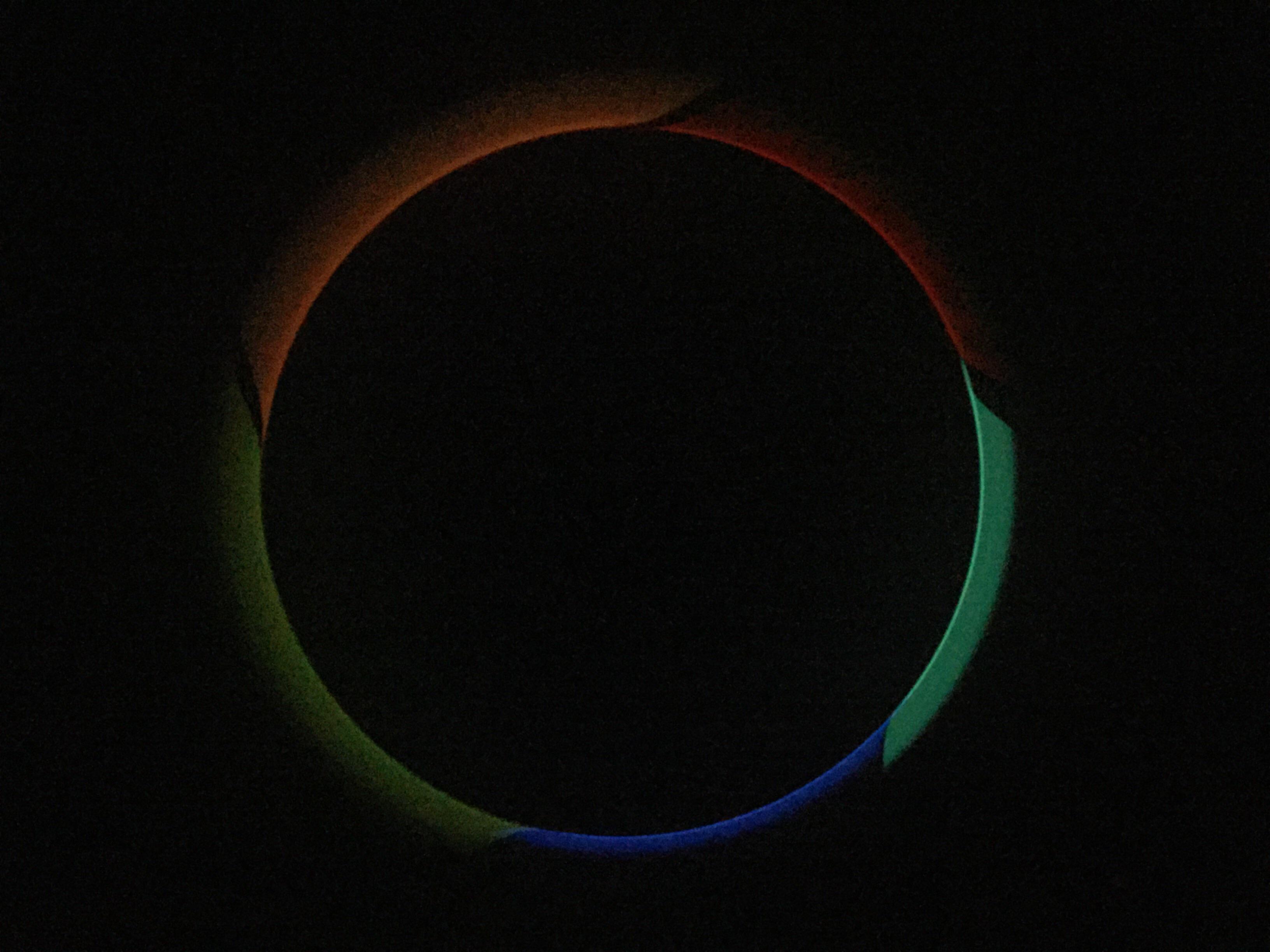 5 Glow Sticks On A Ceiling Fan R