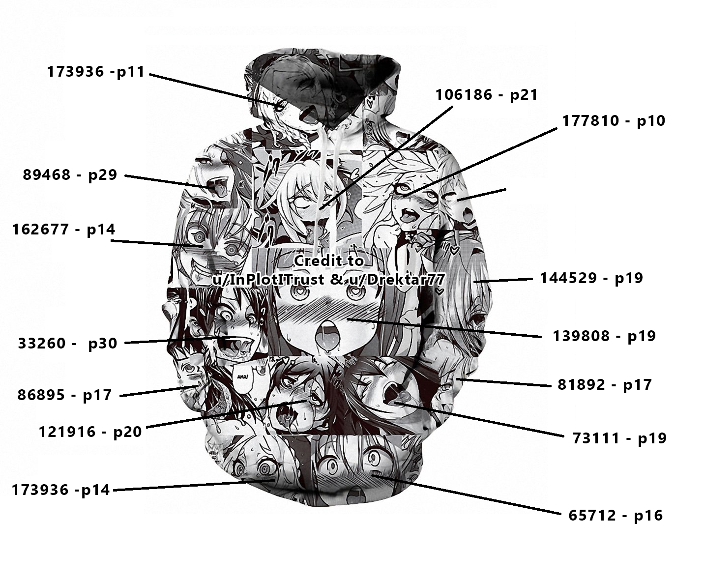 Ahega ahegao hoodie nhentai source numbers (original / correct