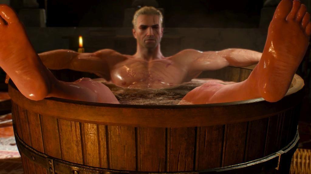 Geralt In A Bathtub Template Geralt In A Bathtub Know