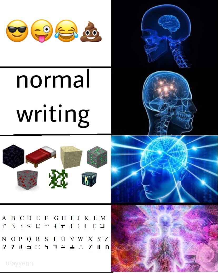 Enchantment Table Is Superior Form Of Language R