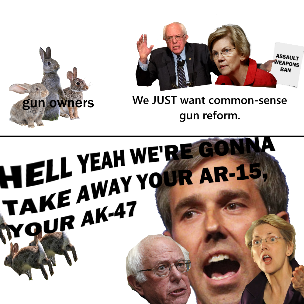 Hell Yeah We Re Gonna Take You Ar 15 Beto O Rourke Know Your Meme
