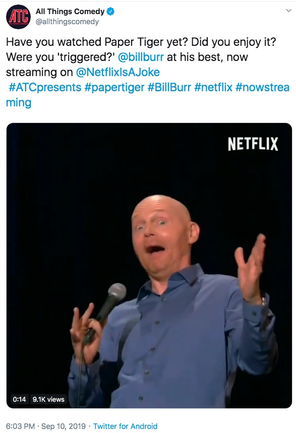 Bill Burr Trigger Netflix Triggered Specials Know Your Meme