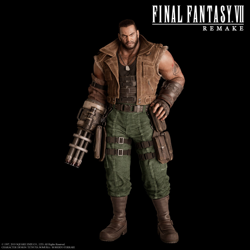 Final Fantasy Vii Remake Character Art