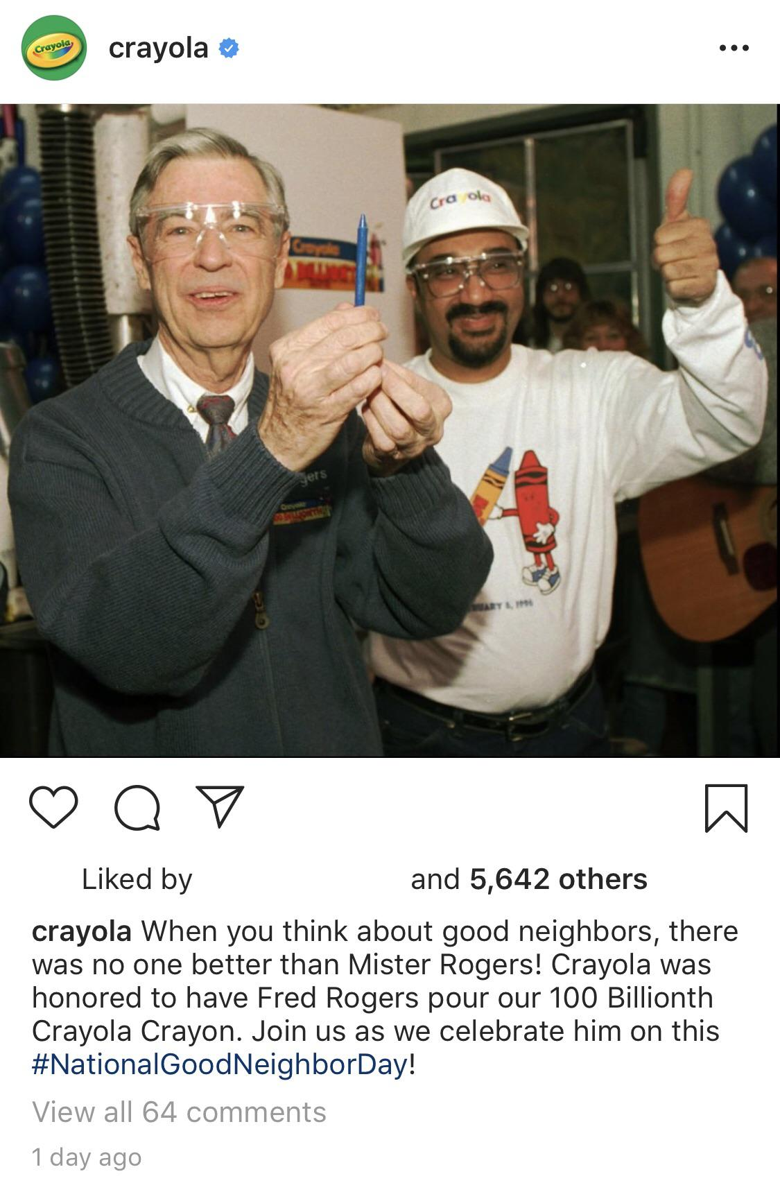 Anything Involving Mr Rogers Was Wholesome R Wholesomememes Wholesome Memes Know Your Meme