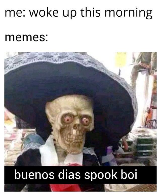 Spooktober Fuckboy Buenos Dias Fuckboy Know Your Meme
