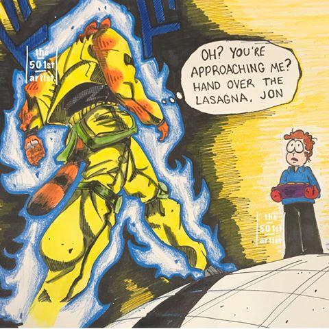 You Used To Be Taller Jon R Imsorryjon Creepy Garfield Know Your Meme