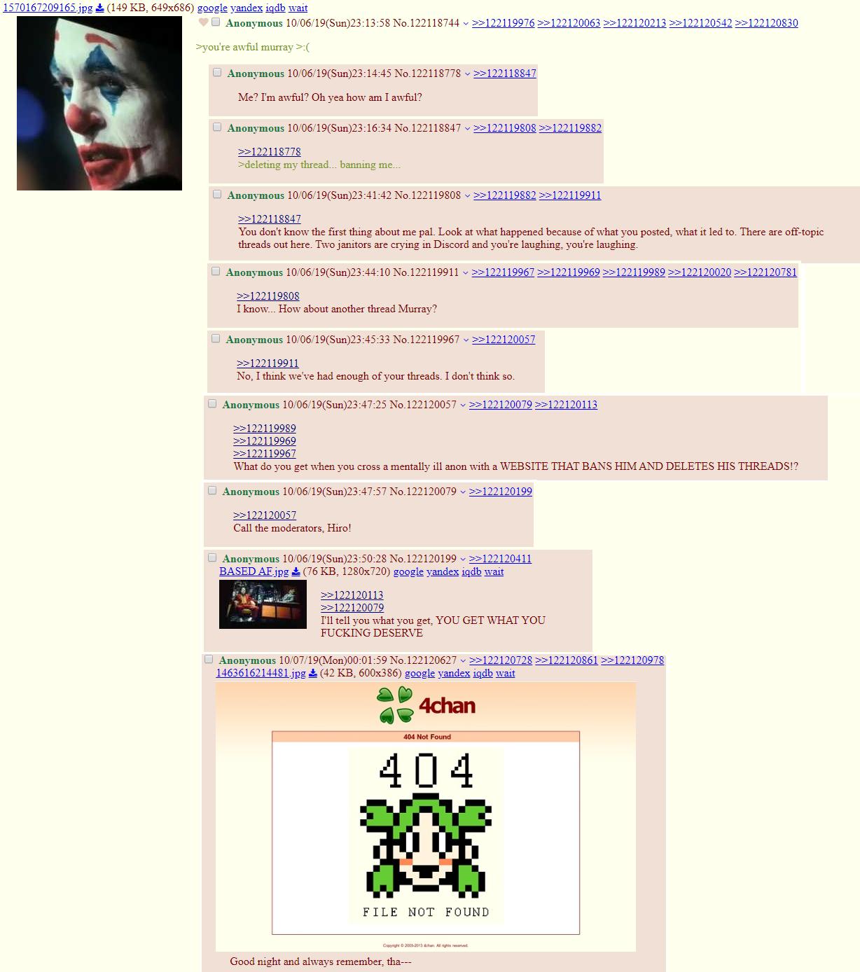 Joker 4chan Ending Joker 2019 Film Know Your Meme
