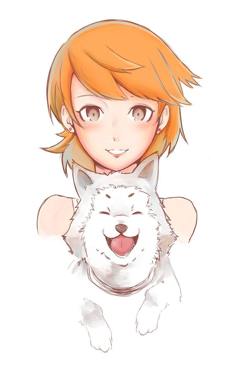 Yukari And Koromaru Megami Tensei Persona Know Your Meme Koromaru is a playable character from persona 3. megami tensei persona