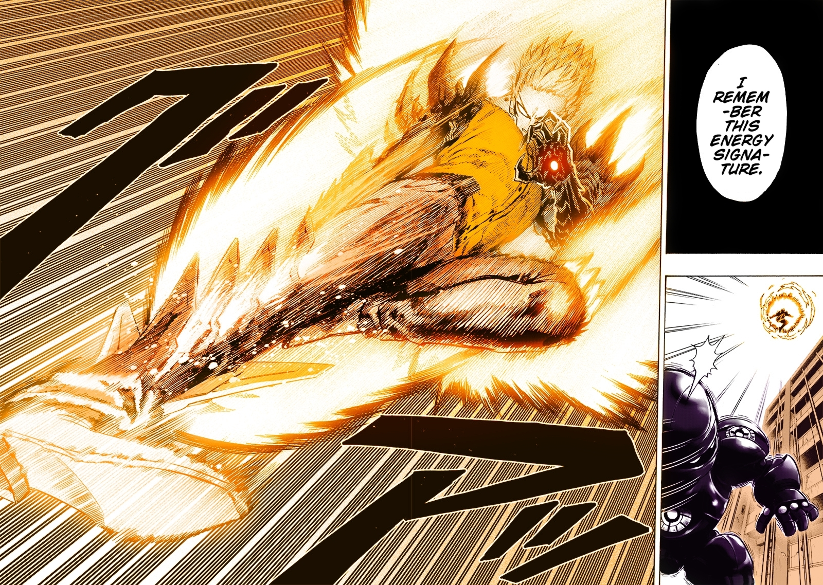 Manga Spoilers I Colored Genos R Onepunchman One Punch Man Know Your Meme