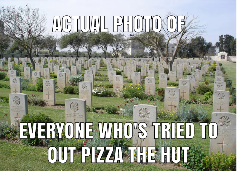 Bro Did You Really Think You Could Out Pizza The Hut