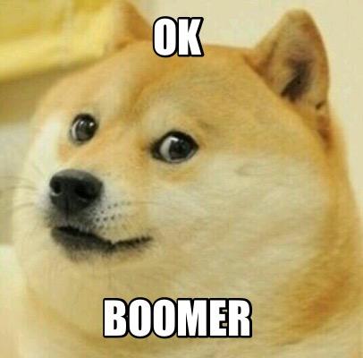 Ok, Bommer Meme