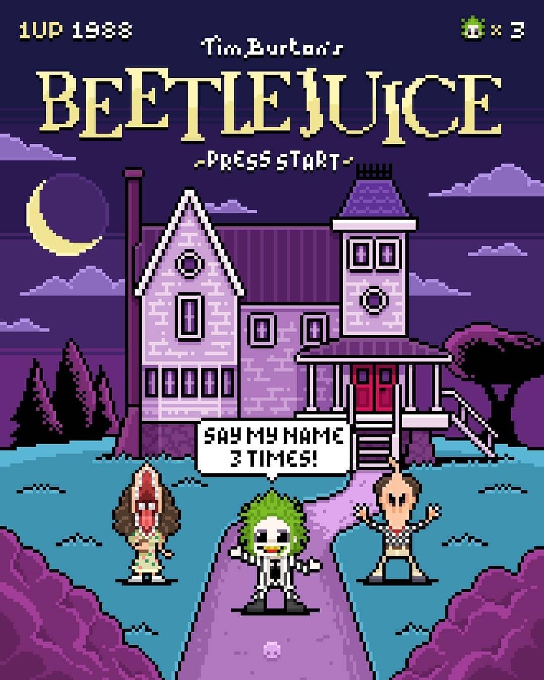 Beetlejuice Beetlejuice Beetlejuice Beetlejuice Know Your Meme