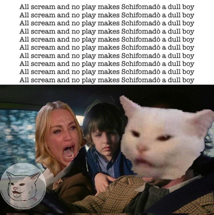Woman Yelling At Cat Meme Blank Template