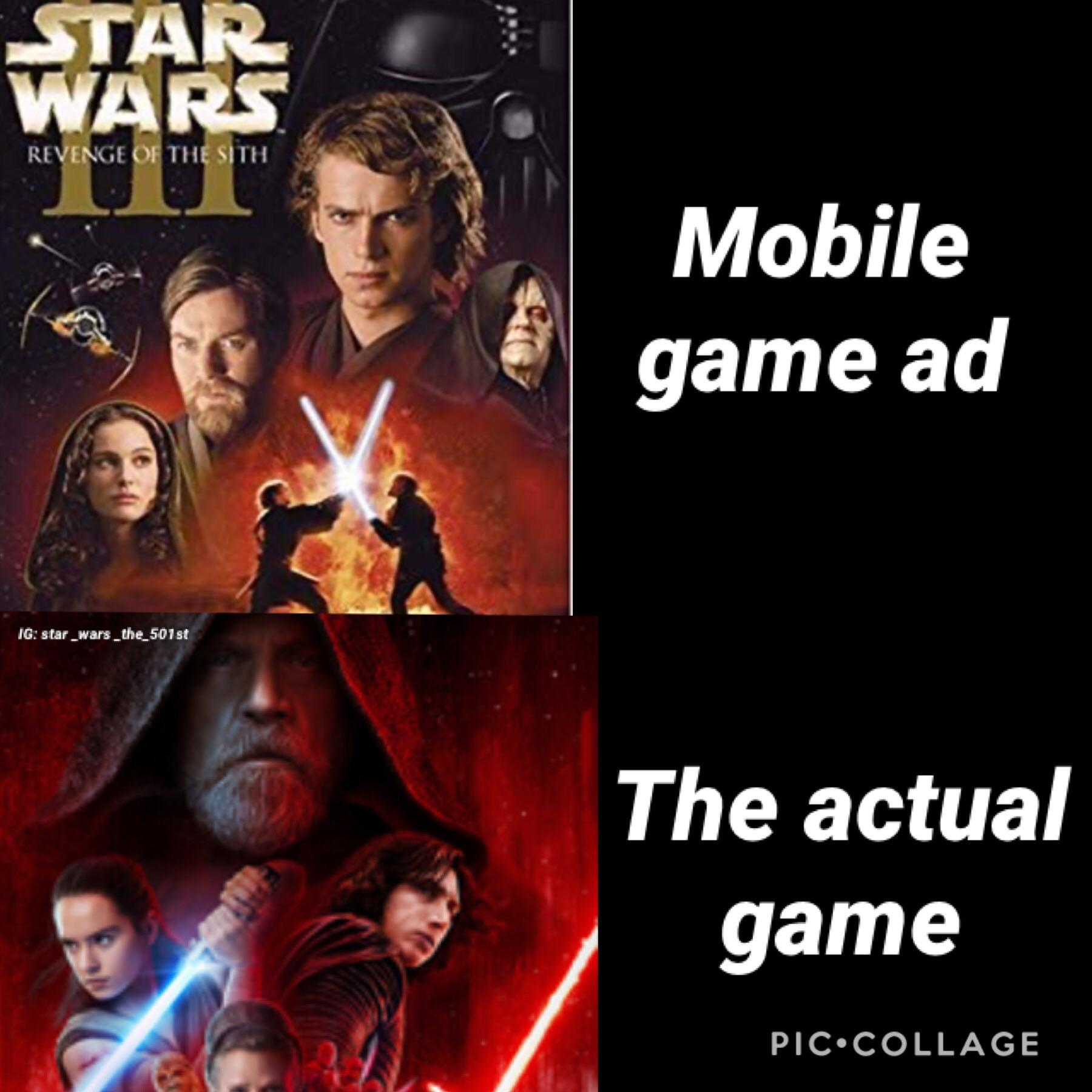 Ads On Social Media Be Like R Prequelmemes Prequel Memes Know Your Meme