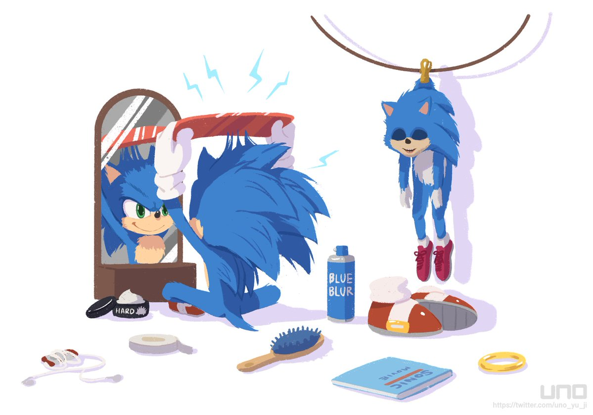 Sonic Film Redesign Fan Art Sonic The Hedgehog 2020 Film Know Your Meme