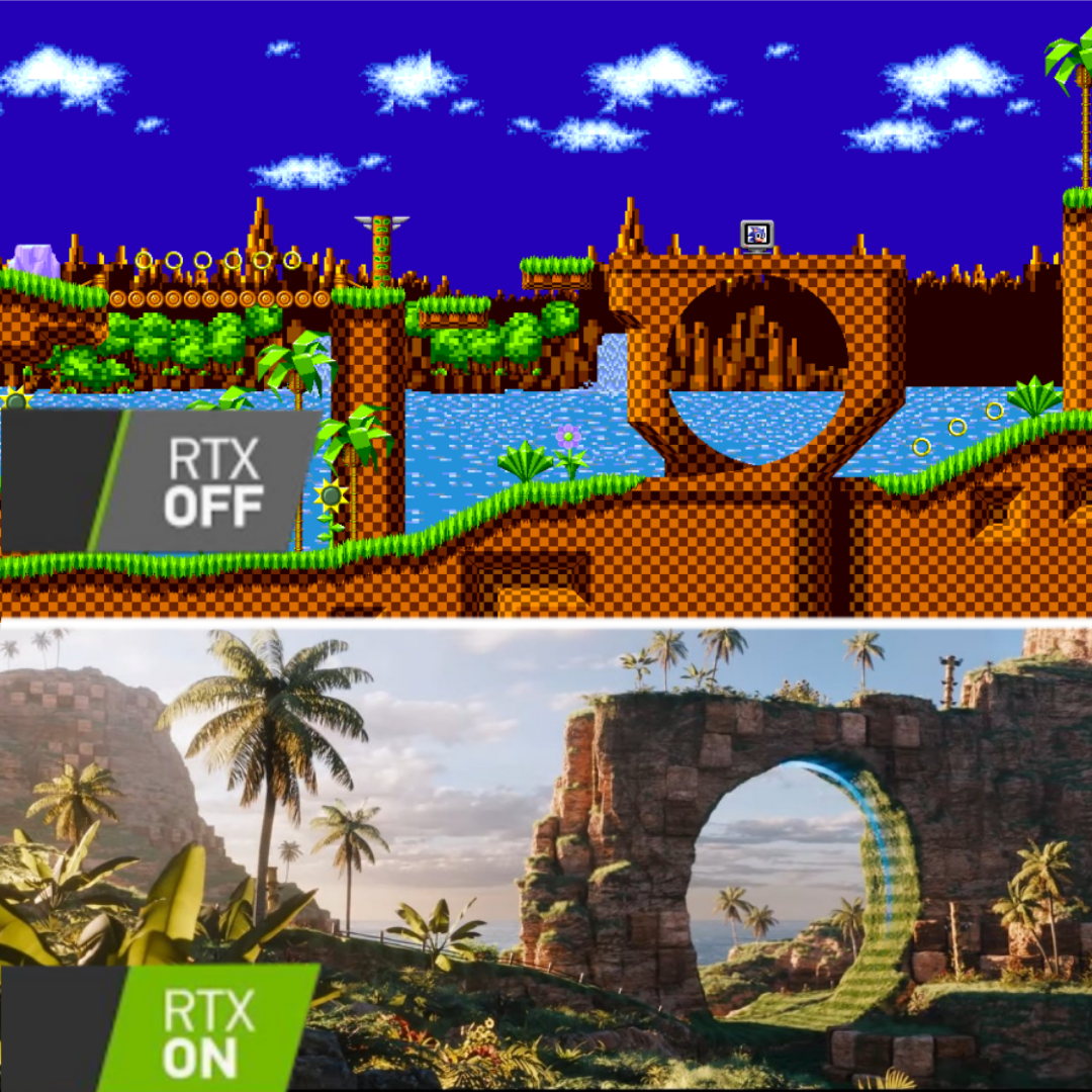 Green Hill Zone Looks Pretty Good Sonic The Hedgehog 2020 Film